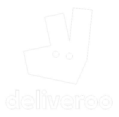deliveroo logo white